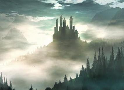 Paysage fantastique for Paesaggi fantasy immagini