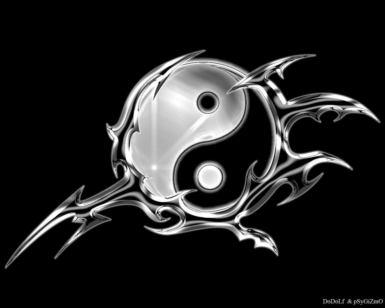 ying yang. Black Bedroom Furniture Sets. Home Design Ideas